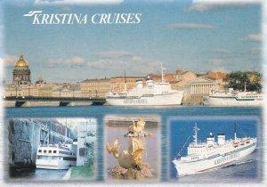 FINLAND, 1950-1960's; M.S. Kristina Regina, M.S. Kristina Brahe, Kristina Cru...