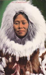 Alaska An Eskimo Indian Beauty