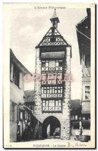 Old Postcard Riquewihr The Dolder