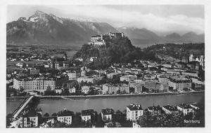 Salzburg Gesamtansicht Bruecke Bridge River Pont Panoramic view