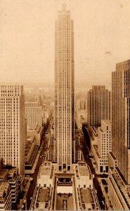 New York City Rockefeller Center 1942 Real Photo