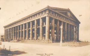 San Francisco CA~Oregon Building~Panama Pacific Exposition RPPC 1915 SHARP!