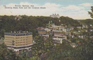 Arkansas Eureka Springs Showing Basin Park And Crescent Hotels