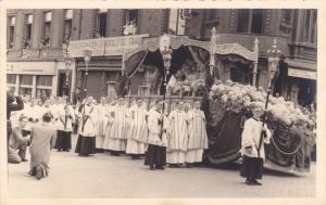 RP; LIEGE, Belgium; Christian Procession, 1930s