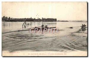 Saumer- water -Carte Races 1902 Old Post
