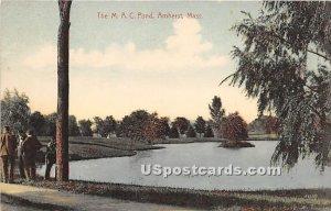 The MAC Pond - Amherst, Massachusetts MA