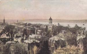 View from Cathedral Spire , FREDERICTON , New Brunswick , Canada , PU-1909