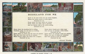 Dixieland for Me, Poem, 1930-40s; 16-views