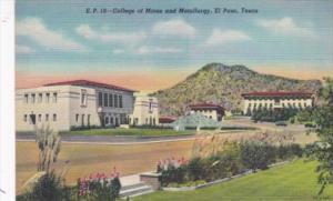 Texas El Paso School Of Mines and Metallurgy Curteich