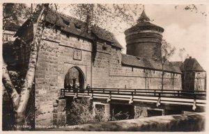 Mauerpartie am Frauentor,Nurnburg,Germany BIN