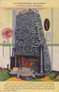 Old Bookbinders Restaurant 125 Walnut Street Philadelphia Pennsylvania 1944