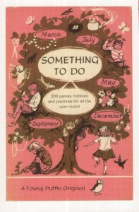 Something To Do Games & Hobbies 1968 Puffin Book Postcard