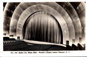 New Yok City Radio City Music Hall World's Largest Indoor Theater Real P...
