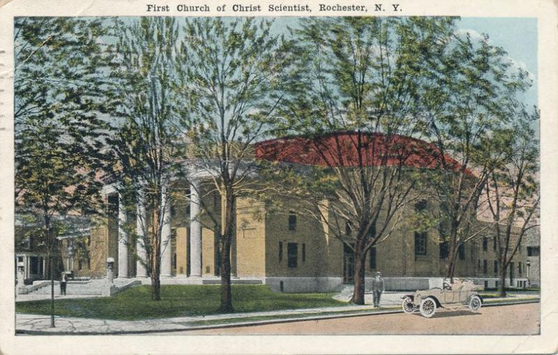 First Church of Christ Scientist - Rochester, New York - pm 1922 - WB