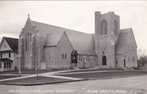 RP: Salem Evangelical Church , BLUE EARTH , Minnesota , 30-40s
