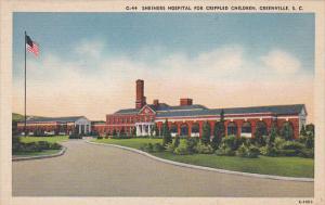 Shriners Hospital for Crippled Children, GREENVILLE, South Carolina, 30-40s