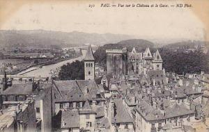 Vue Sur Le Chateau Et Le Gave, Pau (Pyrénées-Atlantiques), France, 1900-1910s