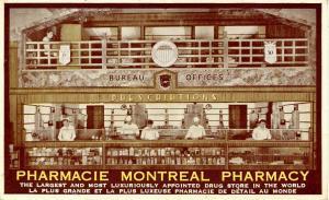Canada - Quebec, Montreal. Pharmacie Montreal