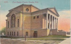 Nebraska Omaha First Baptist Church