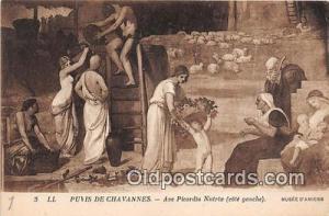Puvis De Chavannes, Ave Picardia Nutrix Musee D'Amiens Postcard Post Card Mus...