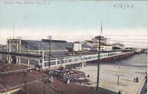 New Jersey Atlantic City Young's Pier 1907