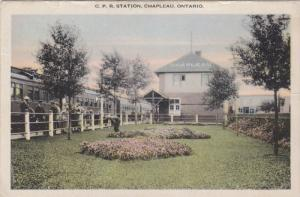 CHAPLEAU, Ontario, Canada, 1900-1910's; C.P.R. Station