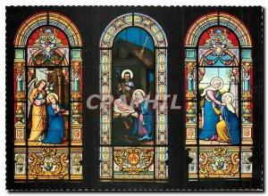 Modern Postcard Basilica Sanctuario Madonna del Sasso Orselina Locarno