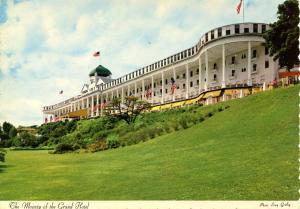 MI - Mackinac Island. Grand Hotel