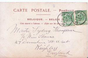 Genealogy Postcard - Family History - Thompson - Keighley  162A