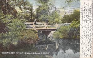 Old Country Bridge Made Famous By Whittier, HAVERHILL, Massachusetts, 1900-1910s