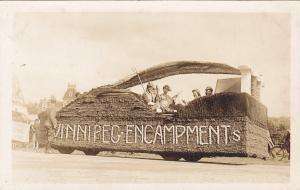 RP; Parade, WINNIPEG, Manitoba, Canada, 1931; Winnipeg Encampments Float