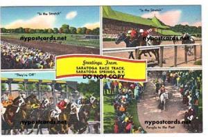 Race Track, Saratoga Springs NY