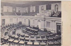 TUCK: Interior View of the US Senate Chamber, Washington DC Pre-1907