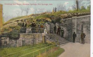 Arkansas Hot Springs Drinking Hot Water Maurice Springs