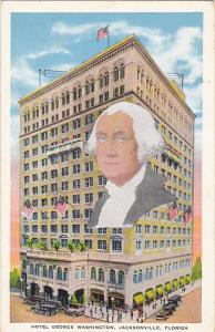 Hotel George Washington Jacksonville Florida 1934