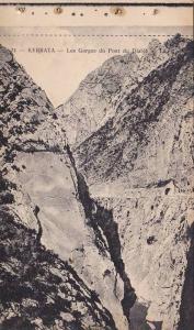 KERRATA, Les Gorges du Pont du Diable, Bejaia, Algeria, 10-20s