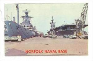 Norfolk Naval Base, Norfolk, Virginia, 40-60s