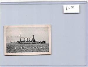 6318 U.S.S. Seattle Flagship, U.S. Fleet, mini card