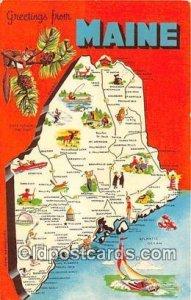 Maine USA 1973