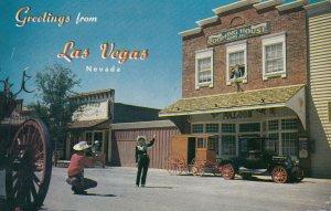 LAS VEGAS , Nevada , 1950-60 ; Last Frontier Village