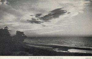 BRIDGMAN , Michigan, 1900-10s; Evening Sky