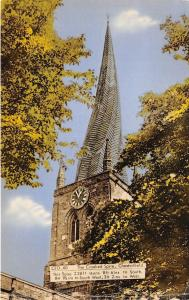 BR446 England The Crooked Spire Chesterfield  uk