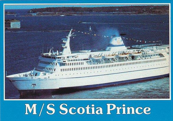 Canada Ferry M S Scotia Prince Yarmouth Nova Scotia