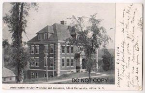State School of Clay-Working & Ceramics, Alfred NY