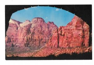 Zion National Park Gallery in Tunnel Utah Vintage Mike Roberts Postcard