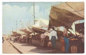 Market , Willemstad , Curacao , N.A., 40-60s