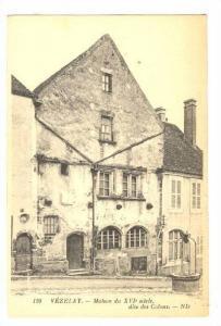 Vezelay (Yonne), France, 1900-1910s ; Maison du XVI siecle dite des Colons