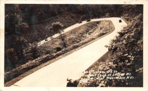 Rowlesburg-Macomber West Virginia~Laurel Mountain~Vintage Cars~US 50~1939 RPPC