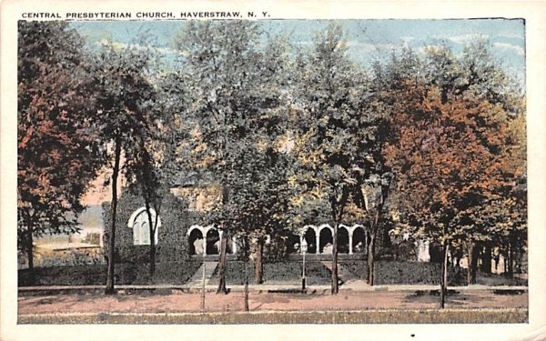 ny-haverstraw Central Presbyterian Church Unused