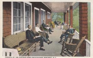 MONTREAT, North Carolina, 10-20s; Veranda Of The Chapman Home For Ministers